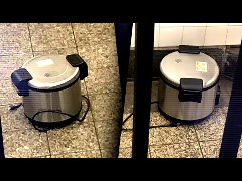Rice Cookers Left at NYC Subway Station Cause Panic