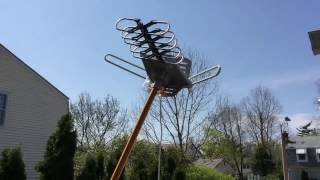 HDTV Digital Outdoor Antenna: Setup and Testing