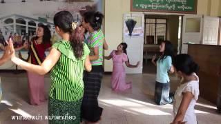 Rakhine Traditional Dance , Sittwe