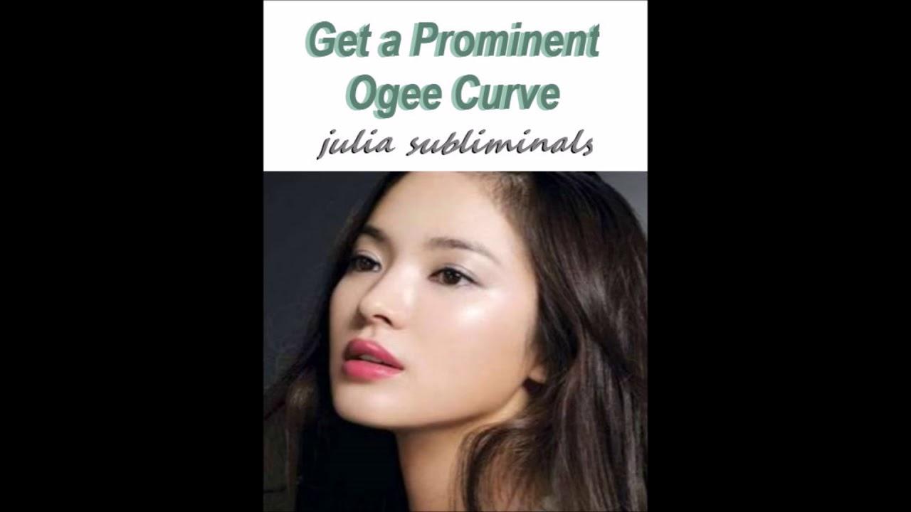 Ogee facial curve #1