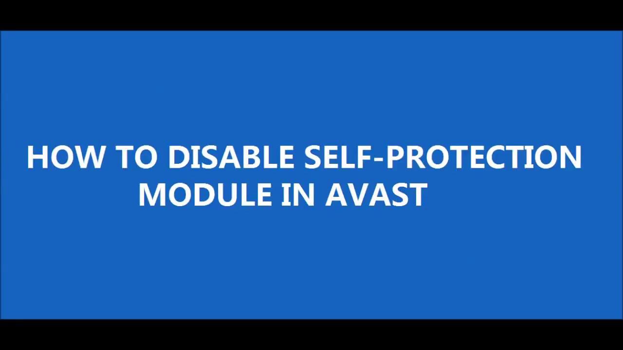 avast self defense module
