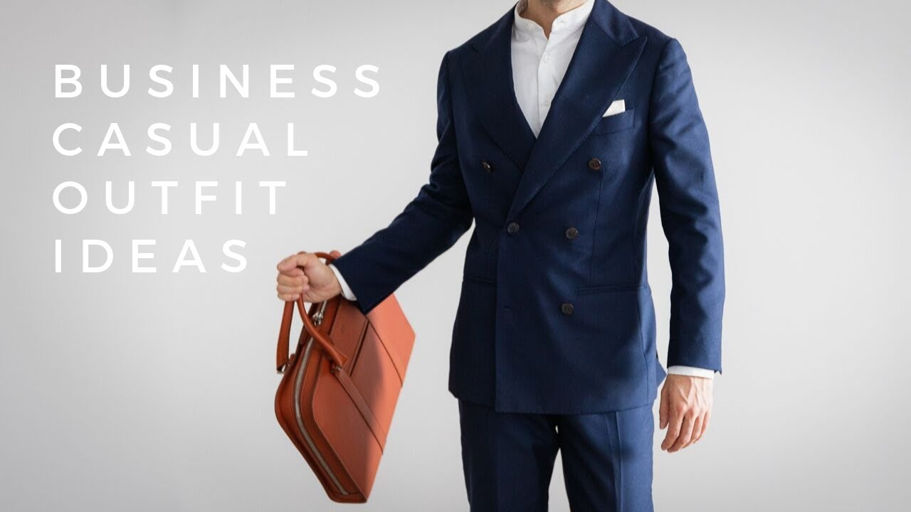 [VIDEO] - 5 Business Casual Outfit Ideas For The Modern Workplace 6