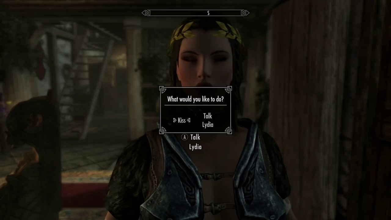 Skyrim Mod of the day: Kissing - Immersive Lovers Comfort by GSmith624