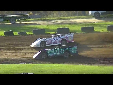 ULMS Super Late Model Heat Three | McKean County Raceway | Fall Classic | 10-10-15