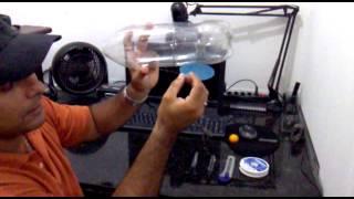 GM GAMES E INTERNET - cria RATOPET ratoeira de garrafa pet (com tampa)