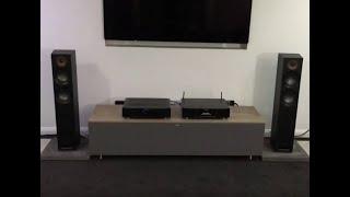 Jamo Studio 807 Speakers with Marantz PM6006 and NA6006 - OrtonsAudioVisual.com