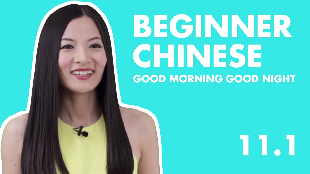 Learn Chinese for Beginners 11.1 |  HSK1 Beginner Chinese Lesson Basic Greetings in Mandarin Chinese