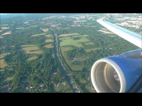 Thomas Cook Airbus A321-211   London Gatwick to Kefalonia *Full Flight*