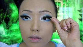 Alice in Wonderland Make up Tutorial