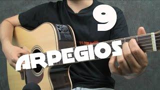 9 arpegios de guitarra para mejorar tus acompaamientos