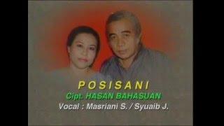 Video POSISANI Voc.MASRIANI SYUKRI Cipt. HASAN BAHASWAN download MP3, 3GP, MP4, WEBM, AVI, FLV Juli 2018