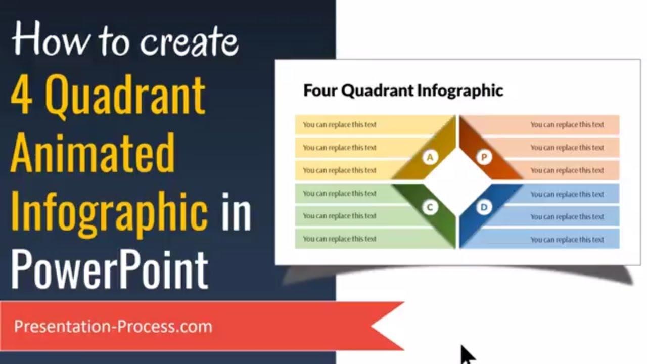 Animated powerpoint infographics 4 quadrant diagram tutorial youtube animated powerpoint infographics 4 quadrant diagram tutorial presentation process toneelgroepblik Images