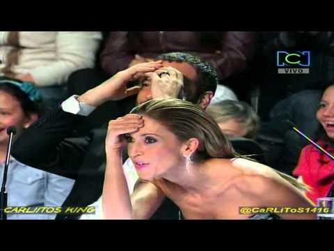 Colombia Tiene Talento 2T - Paola Turbay Resulta Mojada - 14 de Julio de 2013. Videos De Viajes