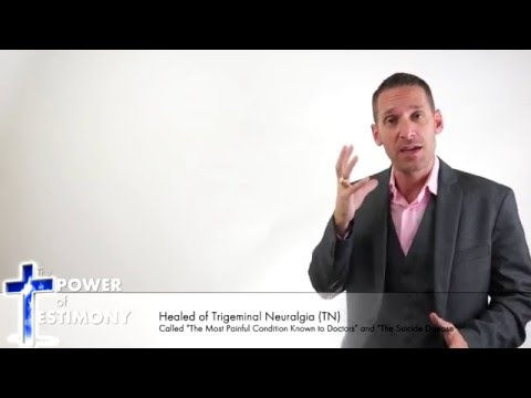 Healed of Trigeminal Neuralgia Cure - If you have TN you must watch!