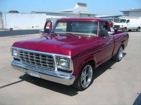 1970's ford pickups - youtube