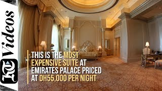 A look inside Emirates Palace's most expensive sui...