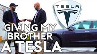 I Surprised My Brother with a Tesla | Being with Babish