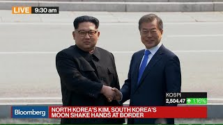 Kim Jong Un Becomes First N. Korean Leader to Enter South