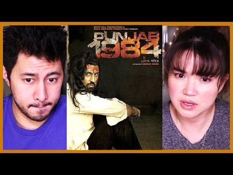 PUNJAB 1984 | Diljit Dosanjh | Trailer Reaction!