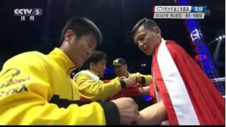 Казах из Китая нокаутировал своего оппонента и завоевал титул чемпиона мира