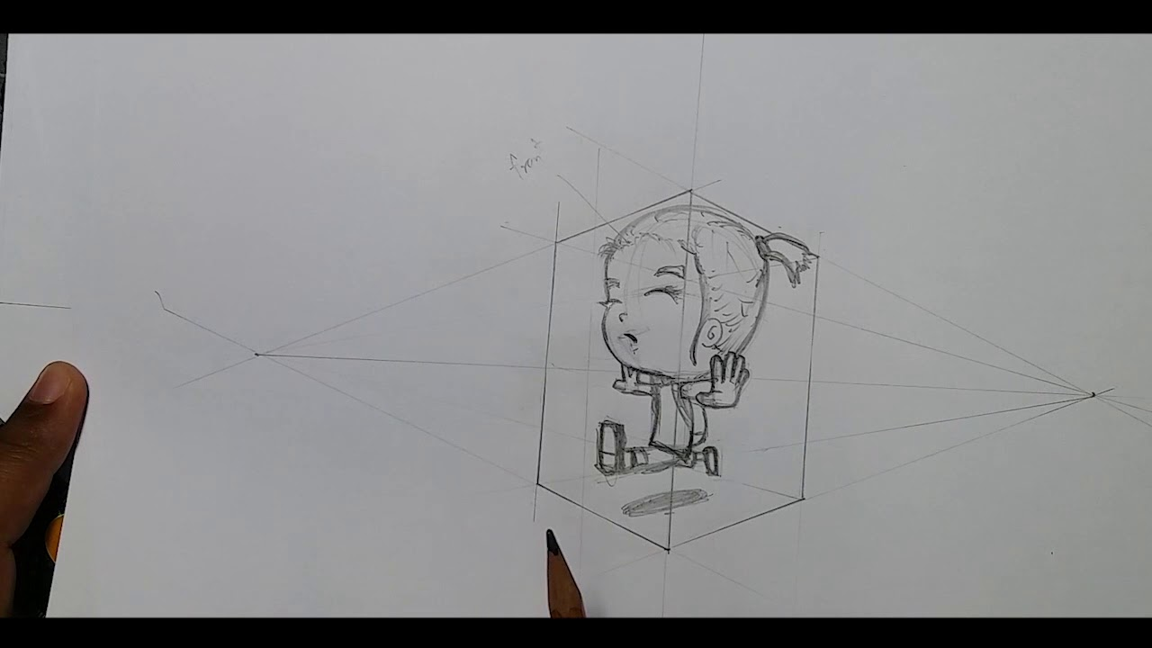 02 Drawing Cartoon Perspective Views Youtube