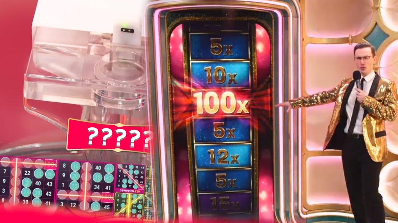Mega Ball 100x getroffen im Online Live Casino