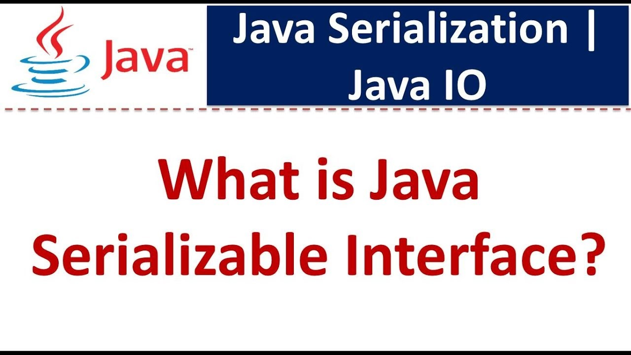 Java tutorial java io java serializable interface youtube java tutorial java io java serializable interface baditri Image collections