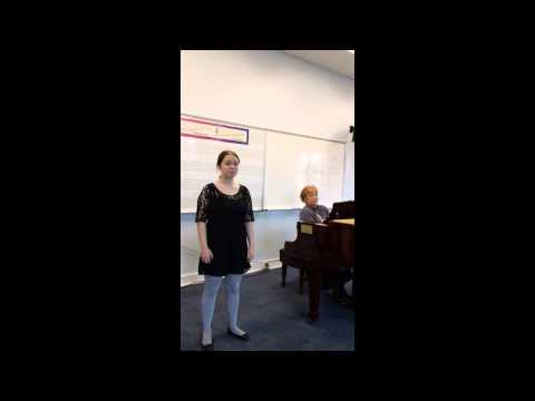 Brevard Music Center Summer Program Audition (English song)