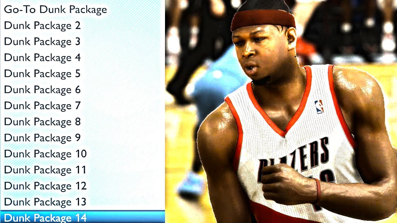 nba 2k13 dunk packages