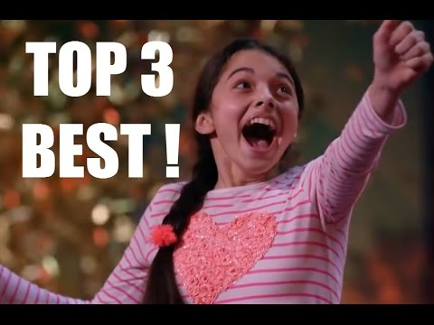 Top 3 BEST SINGING GOLDEN BUZZER AUDITIONS on AGT!