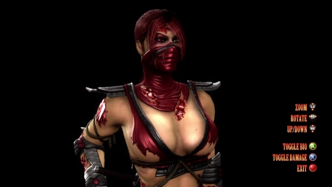 Mortal Kombat: Komplete Edition Skin: Mileena Purple