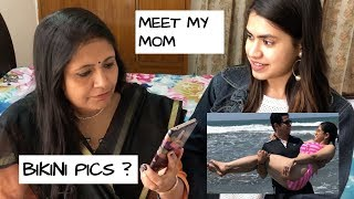 Desi Mom reacts to my Instagram photos | Genuine SHY STYLES lipsticks reviews with MA thumbnail
