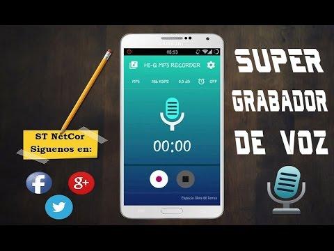 Hi-Q MP3 Recorder PRO v2.1.1 -  Mejor Grabador de Voz