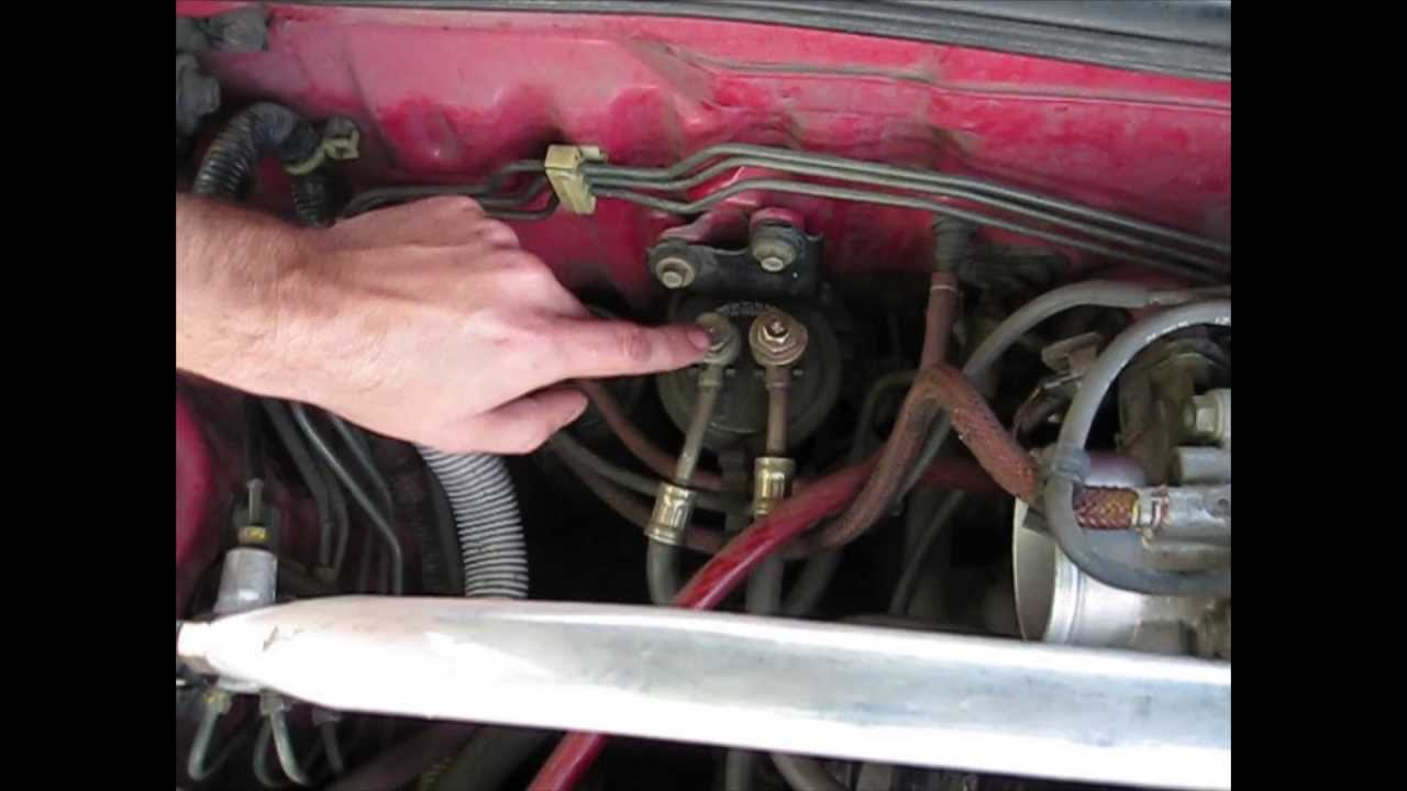 how to replace a fuel filter integra youtube1992 honda accord fuel filter 14 [ 1280 x 720 Pixel ]