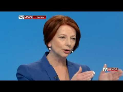 Australian Agenda - Interview with Prime Minister Julia Gillard