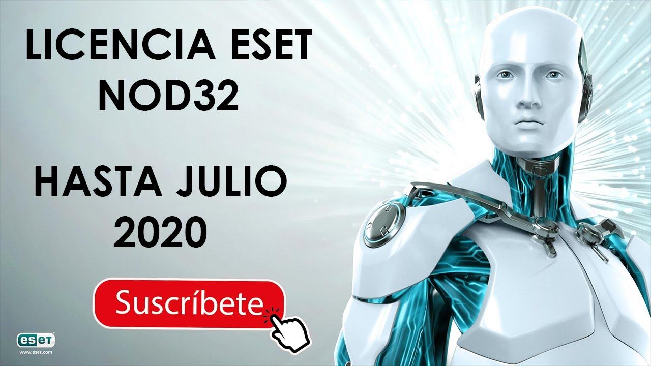 Eset Nod32 Antivirus License Key 2020 - YouTube