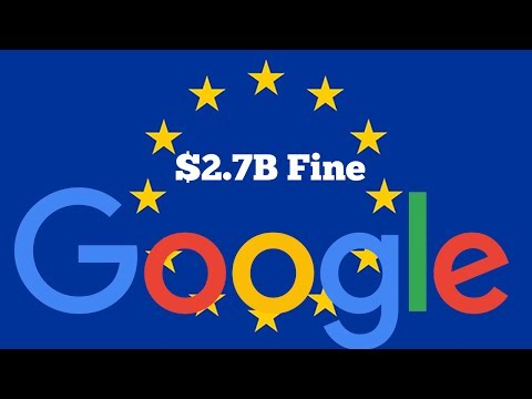EU Fines Google a Record 2.4 Billion Euros ($2.73B ) in Antitrust Case | QPT