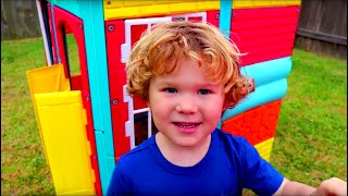 Videos for Kids about Playhouses and Fun | Monster Trucks