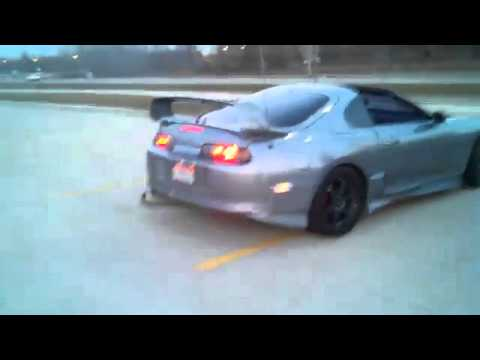 Supra 800HP Throwing Huge Flame (backfire)   YouTube