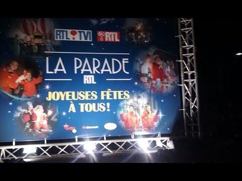 Parade de Noël RTL   Seraing 17 décembre 2017  1er partie