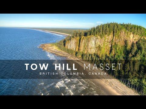 Around Tow Hill in Masset, Haida Gwaii, British Columbia, Canada