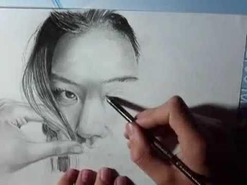 Speed Painting Korean Woman Jeon Ji Hyun (3)