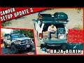 Truck Camper Setup Update and Baja Mexico trip planning for xmass 2018
