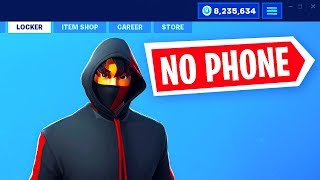 HOW TO GET ICONIC SKIN WITHOUT GALAXY S10 in FORTNITE! (ICONIC SKIN WITHOUT PHONE) FREE ICONIC SKIN!