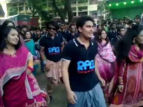 Lungi Dance -By  4th Batch, Dept. of Marketing, Jagannath University
