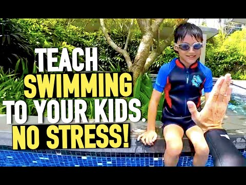 Teach your Kid to Swim with no stress