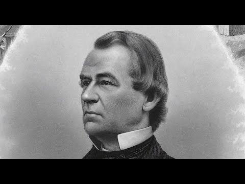 Why did Andrew Johnson miss Inauguration Day? Here's why he ...