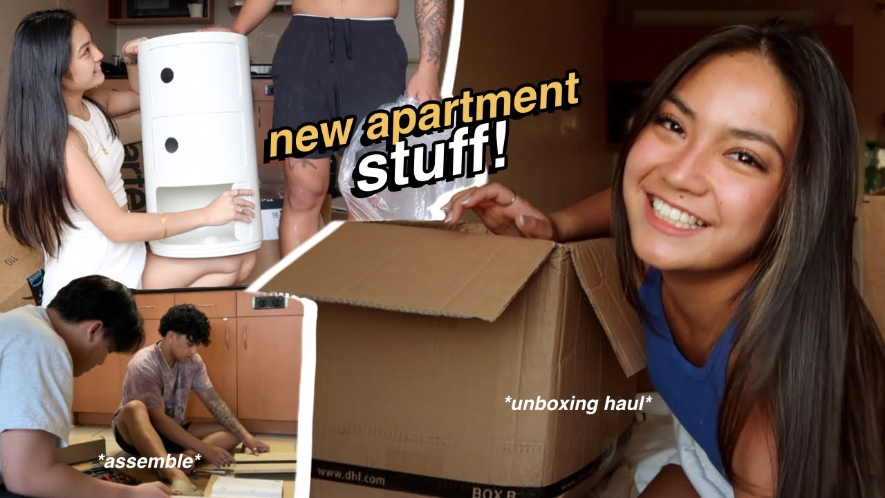 My Day: let's unbox & build NEW APARTMENT stuff! ✨ *r.i.p that bank $$$* 