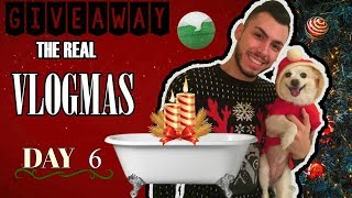 THE REAL VLOGMAS DAY 6 🎁: Κάνω Χριστουγεννίατικο Μπάνιο + GIVEAWAY l Tsede The Real