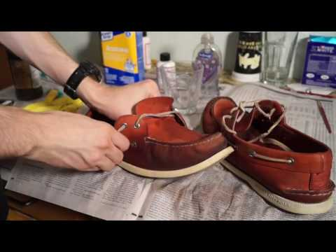 How to Repaint, Restore, and Customize Boat Shoes! Sperry Restoration Tutorial!
